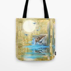Nature Reflected Series: Speckled Plover Tote Bag