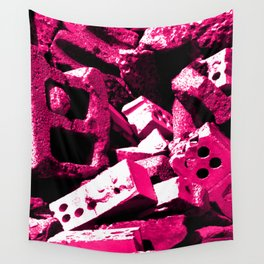 Dream House Rubble Wall Tapestry