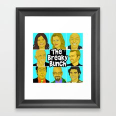 Breaky Bunch Framed Art Print