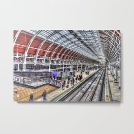 Paddington Station London Metal Print