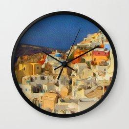 Summer in the Med Wall Clock