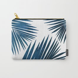Indigo Palm Fronds Carry-All Pouch