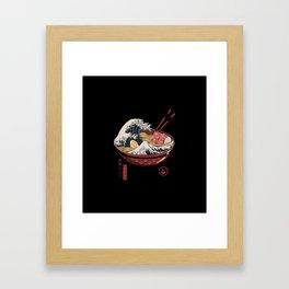 Great Ramen Framed Art Print