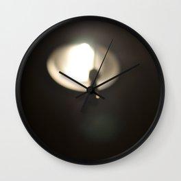 Lamp Wall Clock