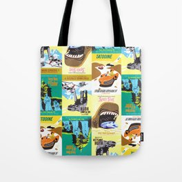 Vintage Pattern Tote Bag