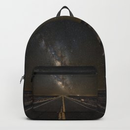 Go Beyond - Road Leads Into Milky Way Galaxy Backpack