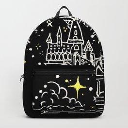 Hogwarts Castle Illustration Backpack