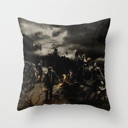 Halloween OUAT Throw Pillow