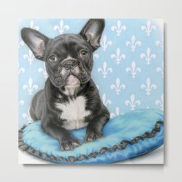 Draw Me Like One Of Your French Girls- Square Format Metal Print
