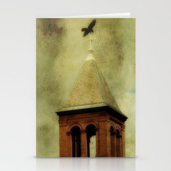 Church Crows Stationery Cards