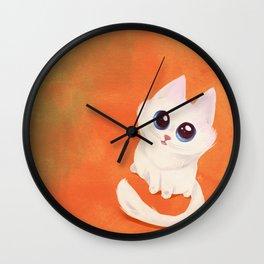 Pippa the kitten Wall Clock