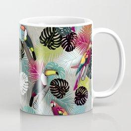 Tropical Birds (Color 2 - Bold) Coffee Mug