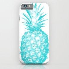 Teal Pineapple Slim Case iPhone 6