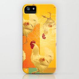 Chickens iPhone Case