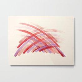 Pink Energy Haystack  Metal Print
