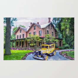 Rutherford B. Hayes Taxi Rug