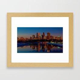 Morning Skyline Framed Art Print