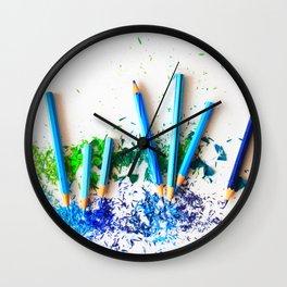 Sharper Color Wall Clock
