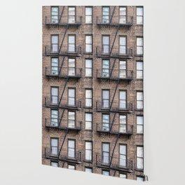 New York Fire Escape Wallpaper