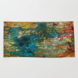 The Canyon Series (Whole Piece) Beach Towel