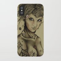 android iPhone & iPod Cases featuring Android by Maria Gabriela Arevalo Reggeti