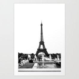 Summer in Paris Art Print