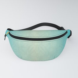 Watercolor & Lines Fanny Pack