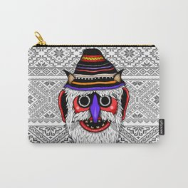 Bucovina Mask / Masca de Bucovina Carry-All Pouch