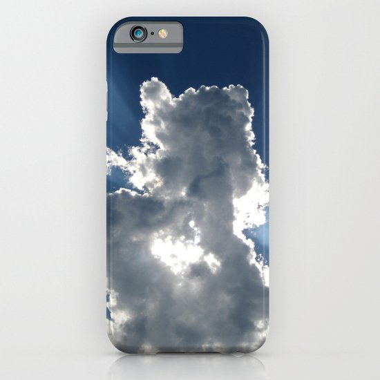 Cloud & Sunbeam iPhone & iPod Case