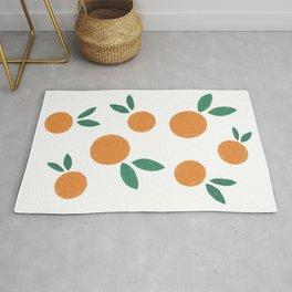 Minimalist Oranges Rug