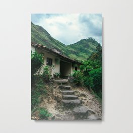 Mountain House (Colombia) Metal Print