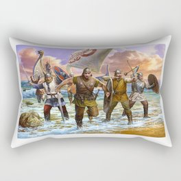 Viking attack Rectangular Pillow