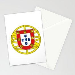 Portuguese Flag (Bandeira Portuguesa) Stationery Cards