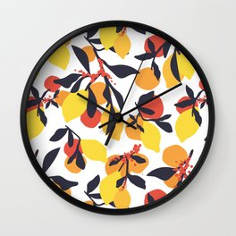 Lemon fantasy Wall Clock