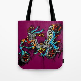 Motor Madness Tote Bag