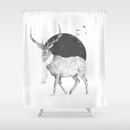 Winter is all around Shower Curtain