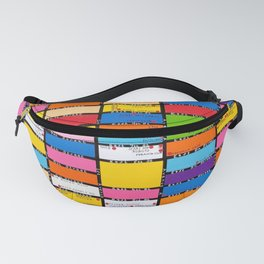 Map of the East Village, New York Fanny Pack