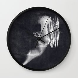 Detachment In A Dual Dream Wall Clock