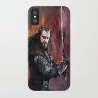 thorin iPhone & iPod Cases featuring Thorin by Wisesnail
