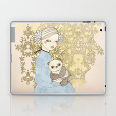 Girl with Panda Laptop & iPad Skin