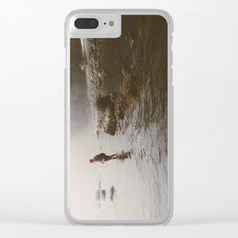 Wade Clear iPhone Case
