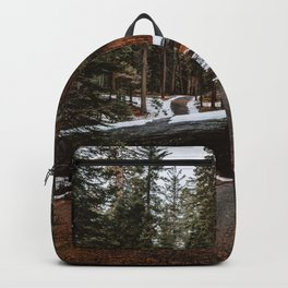 Tunnel Log in Sequoia Backpack