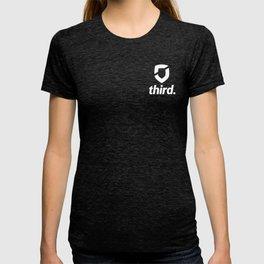 third. Logo - White T-shirt