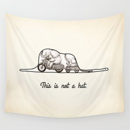 This is not a hat Wall Tapestry