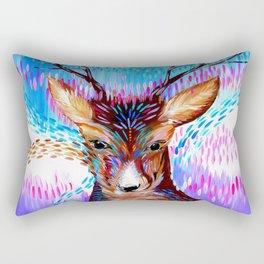 Fantasy Deer Rectangular Pillow