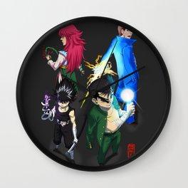 spiritual detectives Wall Clock