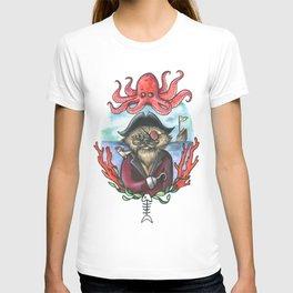 Captain Barnacles The Cat T-shirt