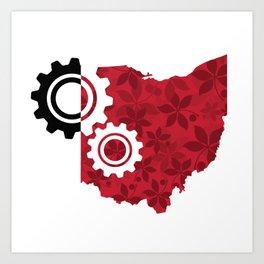 Industrial Ohio Art Print