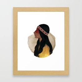 BTATO Native Framed Art Print