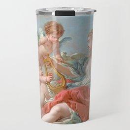 """François Boucher """"Allegory of Music"""" 1764 Travel Mug"""